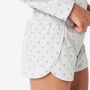 FIGS Poplin Loungewear Pajama Set M